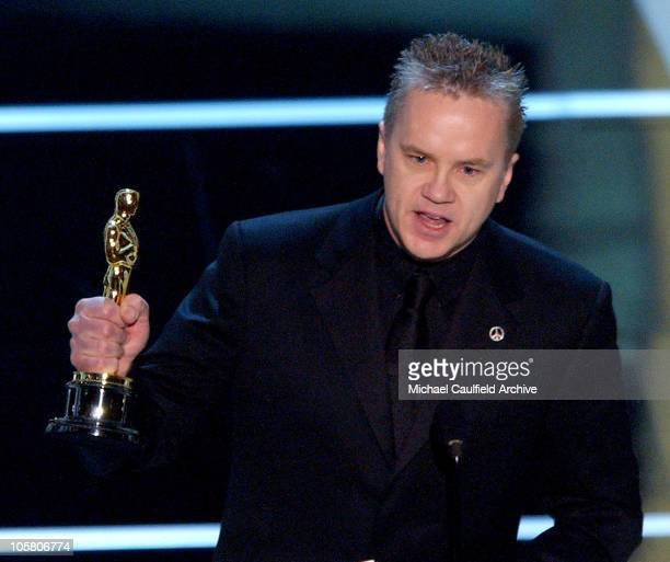 "Tim Robbins, winner for Best Supporting Actor Award for ""Mystic River"""