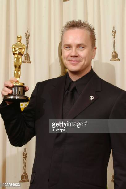"Tim Robbins, winner for Best Supporting Actor for ""Mystic River"""
