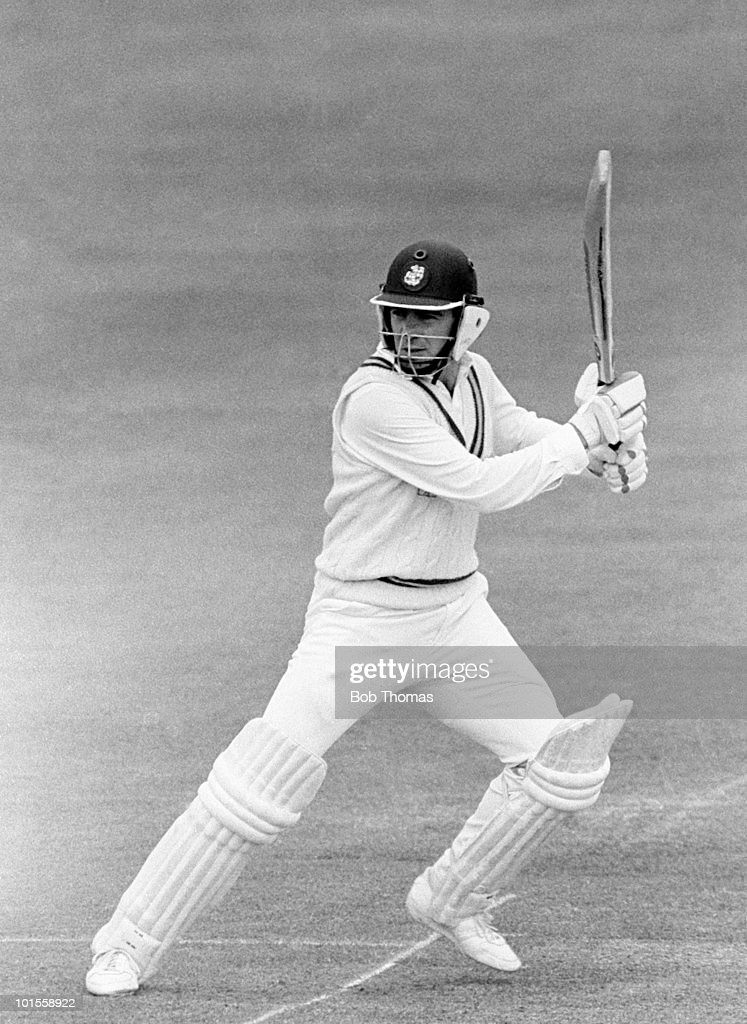 Tim Robinson batting for Nottinghamshire against Sussex during a John Player League cricket match held at Trent Bridge, Nottingham on 18th May 1986. Sussex won by one wicket. (Bob Thomas/Getty Images).
