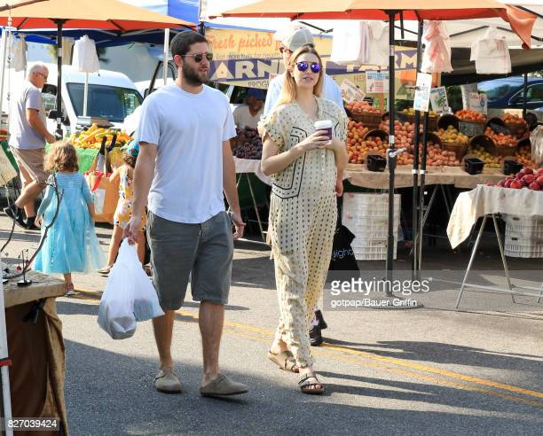 Tim Rosenman and Whitney Port are seen on August 06 2017 in Los Angeles California