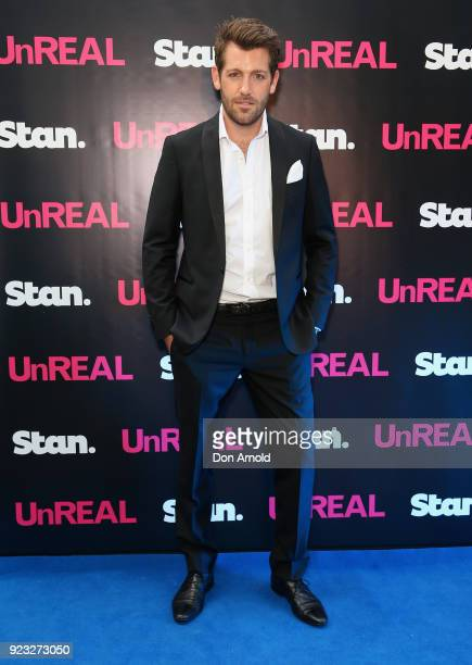 Tim Ross attends the UnREAL Australian Premiere Party on February 23 2018 in Sydney Australia