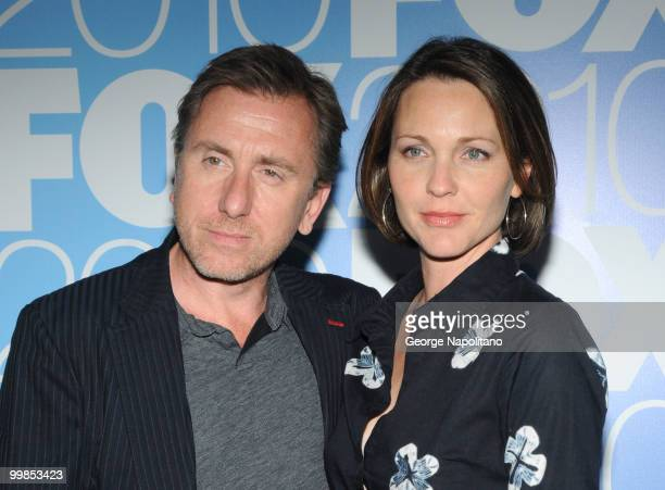 Tim Roth and Kelli Williams attend the 2010 FOX UpFront after party at Wollman Rink, Central Park on May 17, 2010 in New York City.