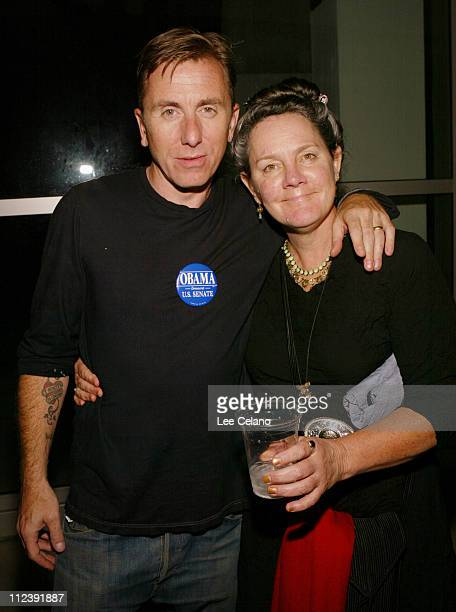 """Tim Roth and Maggie Renzi, producer during """"Silver City"""" Los Angeles Premiere - After-Party at ArcLight Cinemas in Hollywood, California, United..."""