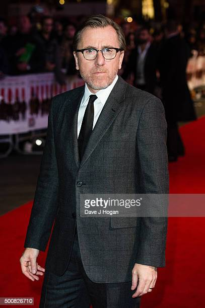 Tim Roth attends the European Premiere of The Hateful Eight at Odeon Leicester Square on December 10 2015 in London England