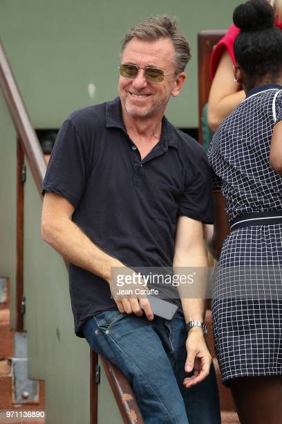 Tim Roth during the men's final on Day 15 of the 2018 French Open at Roland Garros stadium on June 10, 2018 in Paris, France.