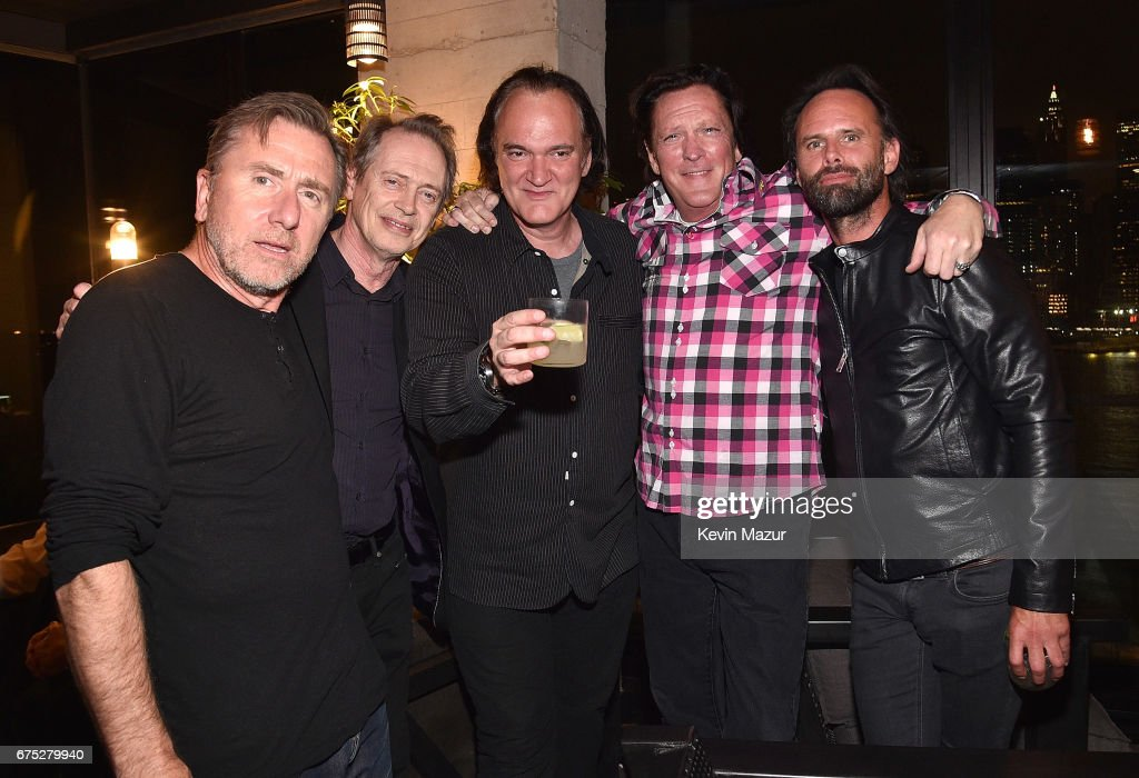"""1 Hotel Brooklyn Bridge Celebrates 25th Anniversary Of """"Reservoir Dogs"""" With Private Party For Harvey Weinstein And Quentin Tarantino : News Photo"""
