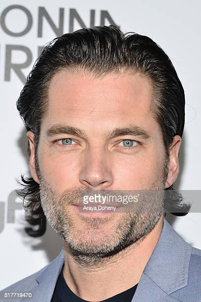 Tim Rozon attends the premiere of Syfy's 'Wynonna Earp' at WonderCon 2016 at Regal LA Live Stadium 14 on March 26 2016 in Los Angeles California