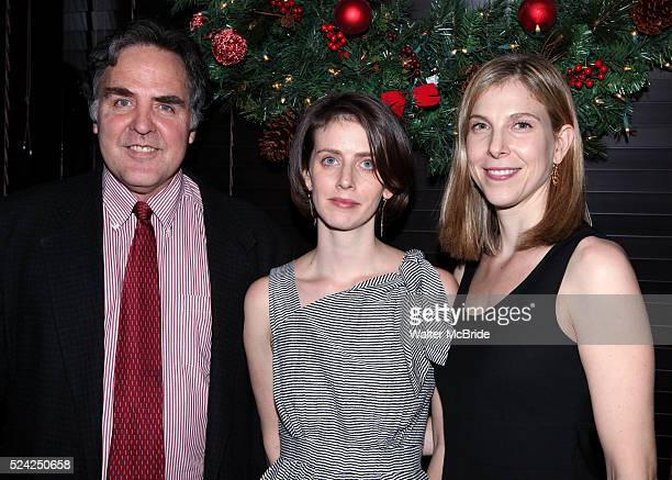 Tim Sanford Amy Herzog Carolyn Cantor attending the Opening Night After Party for the Playwrights Horizons World Premiere Production of 'The Great...