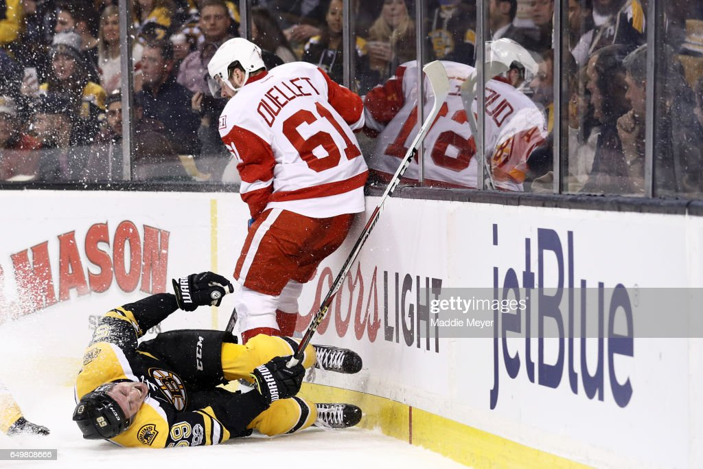 Detroit Red Wings v Boston Bruins