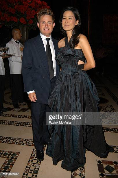 Tim Schifter and Helen Lee Schifter attend New Yorkers for Children 10th Anniversary Fall Gala at Cipriani 42nd Street on September 21 2005 in New...