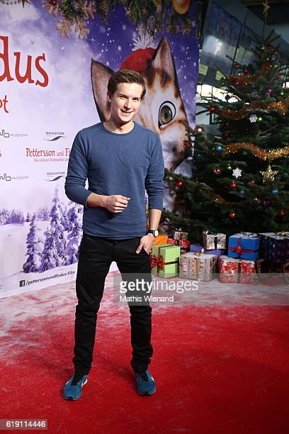 Tim Schreder attends the 'Pettersson und Findus Das schoenste Weihnachten ueberhaupt' World Premiere on October 29 2016 in Cologne Germany