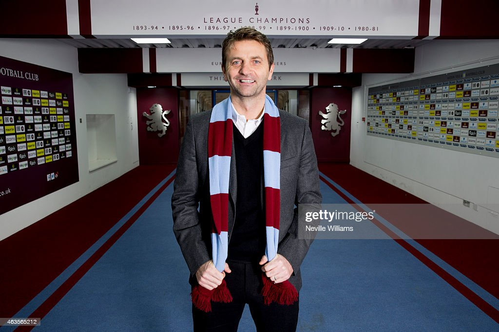 Tim Sherwood New Aston Villa Manager Press Conference and Photo Call
