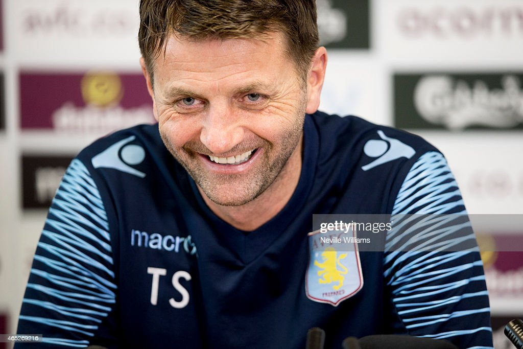 Aston Villa Training and Press Conference