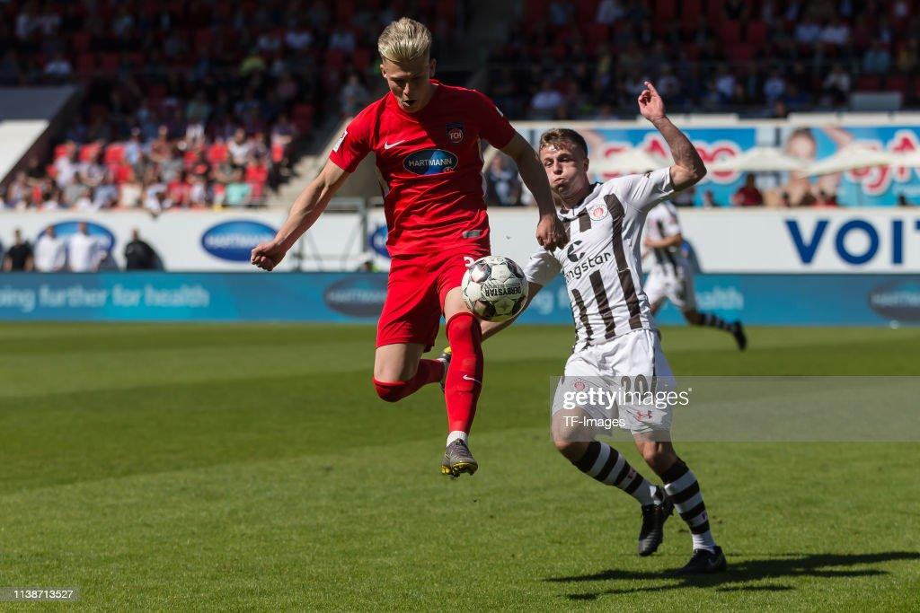 1. FC Heidenheim 1846 v FC St. Pauli - Second Bundesliga : Nachrichtenfoto