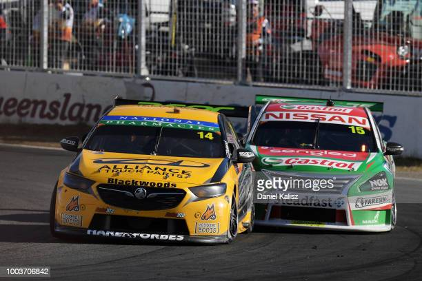 Tim Slade drives the Freightliner Racing Holden Commodore ZB during race 20 of the Supercars Ipswich SuperSprint on July 22 2018 in Brisbane Australia