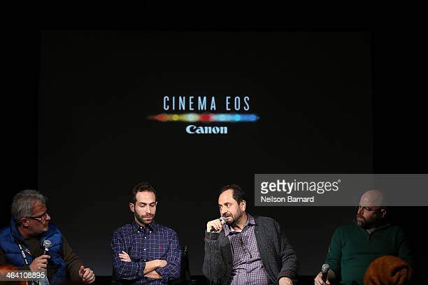 Tim Smith Canon Film and Television Advisor Daniel B Levin DP Chicagoland Antonio Rossi DP Death Row Stories and David Vlasits DP Inside Man speak on...