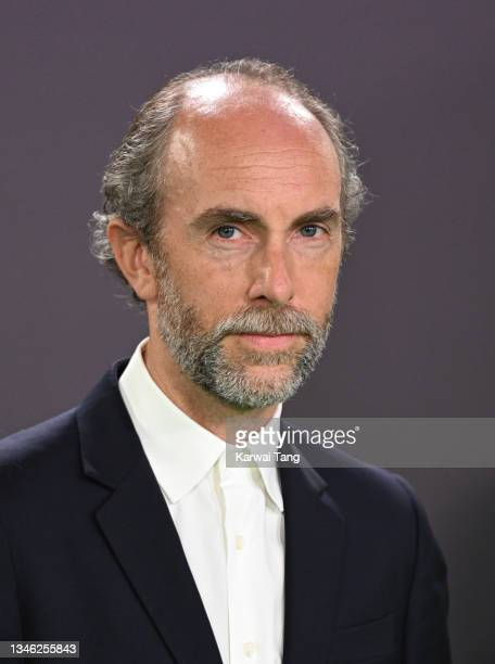 """Tim Steed attends """"The Phantom Of The Open"""" World Premiere during the 65th BFI London Film Festival at The Royal Festival Hall on October 12, 2021 in..."""