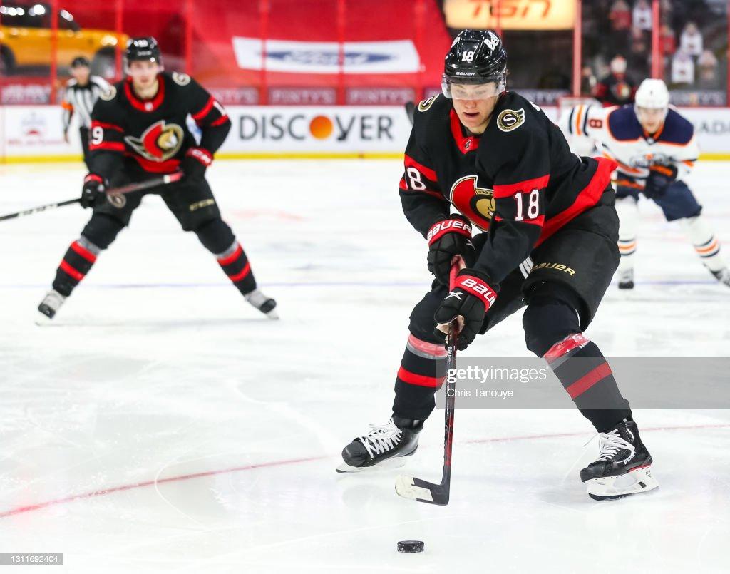 Edmonton Oilers v Ottawa Senators : News Photo