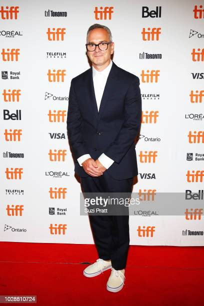 Tim Sutton attends the 'Donnybrook' premiere 2018 Toronto International Film Festival at Winter Garden Theatre on September 7 2018 in Toronto Canada