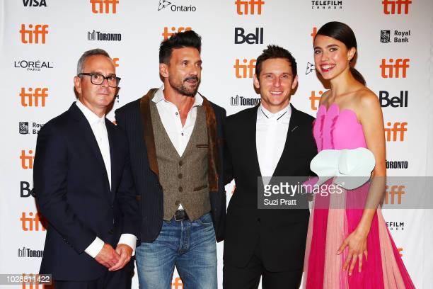 Tim Sutton Frank Grillo Jamie Bell and Margaret Qualley attends the Donnybrook premiere 2018 Toronto International Film Festival at Winter Garden...