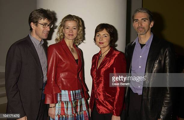 """Tim Taylor, Lady Helen Windsor, Damon Hill & Wife Georgie, """"Burns Supper"""" In Aid Of Sargents Cancer Care For Children And Rachel House Childrens..."""