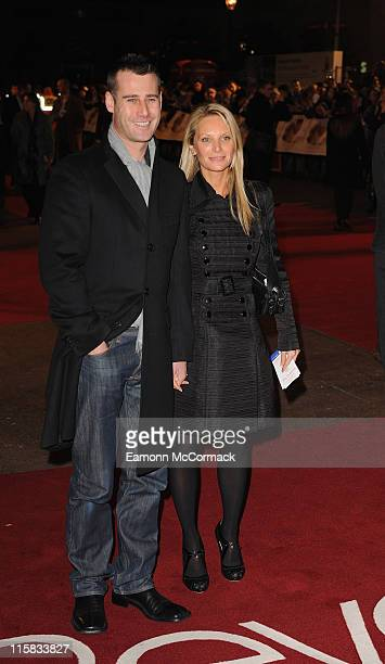 Tim Vincent and guest attend the UK premiere of 'Revolutionary Road' at Odeon Leicester Square on January 18 2009 in London England