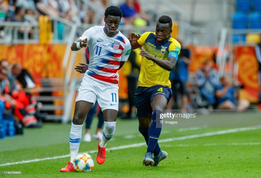 USA v Ecuador: Quarter Final - 2019 FIFA U-20 World Cup : News Photo