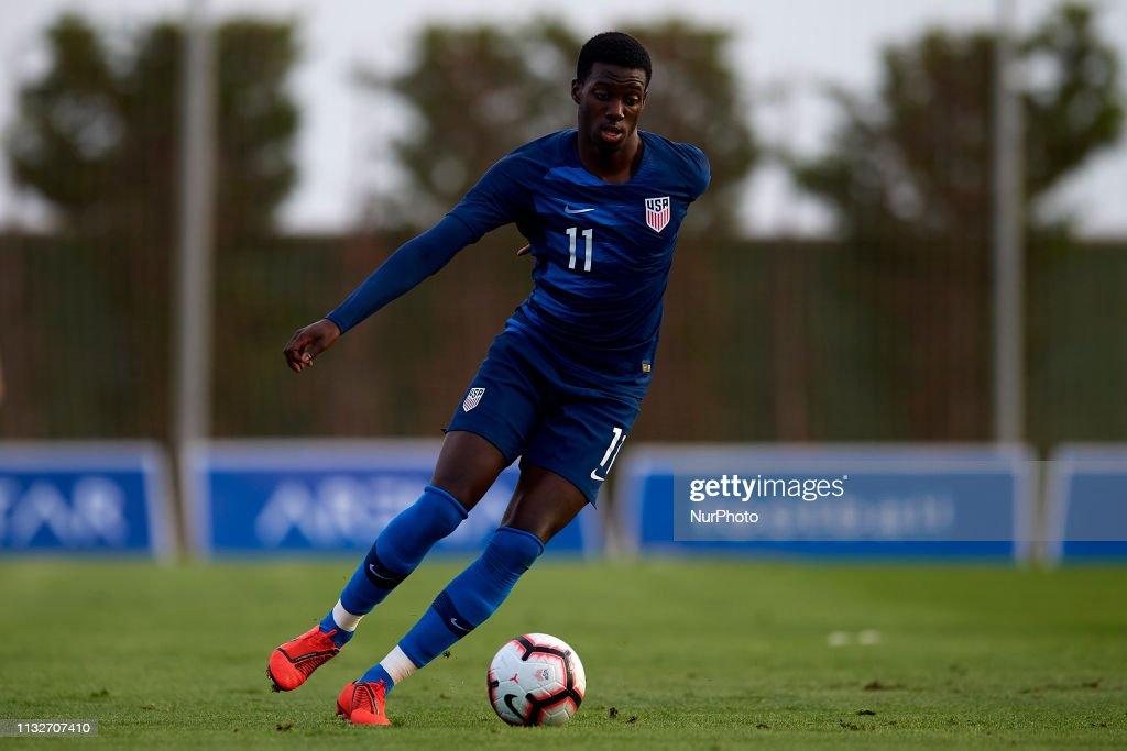 Netherlands U23 v United States of America U23 - International Friendly : News Photo