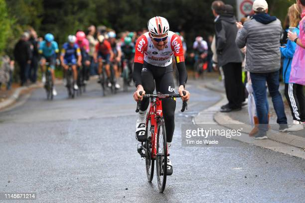 Tim Wellens of Belgium and Team Lotto Soudal / during the 105th Liege - Bastogne - Liege 2019 a 256km race from Liege to Liege / @LiegeBastogneL /...