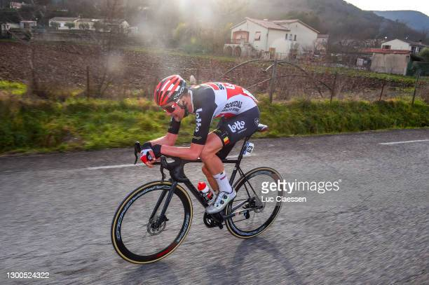Tim Wellens of Belgium and Team Lotto Soudal during the 51st Étoile de Bessèges - Tour du Gard 2021, Stage 3 a 154,8km stage from Bessèges to...