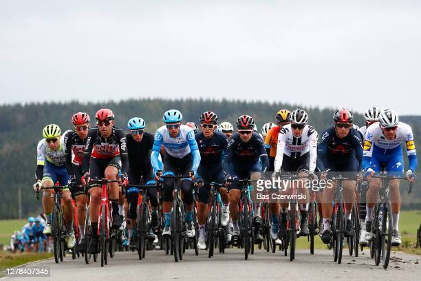 Tim Wellens of Belgium and Team Lotto Soudal / Frederik Frison of Belgium and Team Lotto Soudal / Daniel Martin of Ireland and Team Israel Start-Up...