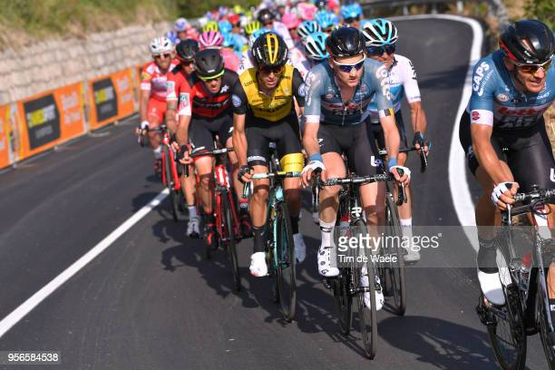 Tim Wellens of Belgium and Team Lotto Soudal / George Bennett of New Zealand and Team LottoNL-Jumbo / during the 101th Tour of Italy 2018, Stage 5 a...