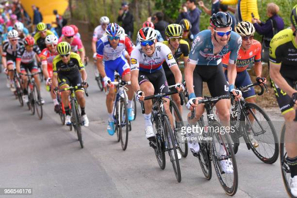 Tim Wellens of Belgium and Team Lotto Soudal / Zdenek Stybar of Czech Republic and Team Quick-Step Floors / during the 101th Tour of Italy 2018,...