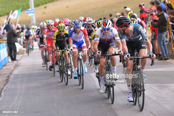 Tim Wellens of Belgium and Team Lotto Soudal / Zdenek Stybar of Czech Republic and Team QuickStep Floors / Thibaut Pinot of France and Team...