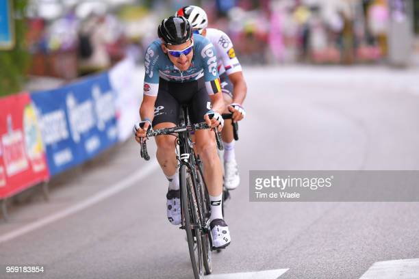 Tim Wellens of Belgium and Team Lotto Soudal / Zdenek Stybar of Czech Republic and Team Quick-Step Floors / during the 101st Tour of Italy 2018,...