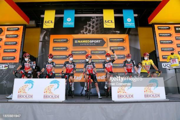 Tim Wellens of Belgium, Steff Cras of Belgium, Sébastien Grignard of Belgium, Matthew Holmes of United Kingdom, Sylvain Moniquet of Belgium, Harry...