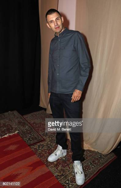 Tim Westwood attends the launch of Skepta's new fashion label 'Mains' at Selfridges on June 27 2017 in London England