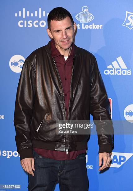 Tim Westwood attends the NBA Global Games London 2015 Tip Off Party at Millbank Tower on January 14 2015 in London England