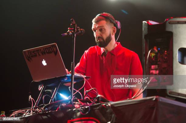 Tim Westwood DJ's on stage during AFROREPUBLIK festival at The O2 Arena on May 26 2018 in London England