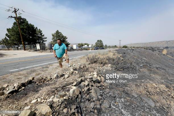 Tim Wheeler who has lived in his Juniper Hills home for 28 years says he hasnt seen anything as bad as the Bobcat Fire He was grateful for the LA...