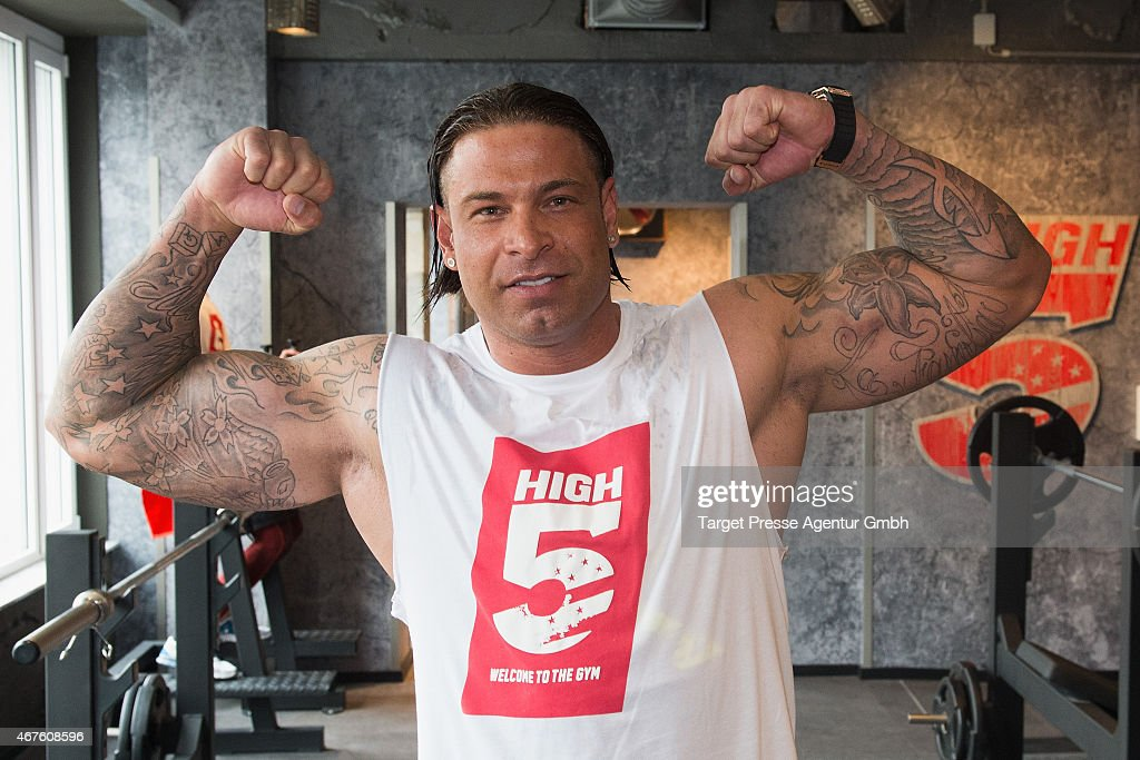 tim wiese attends the high5 fitness studio media pre opening on march nachrichtenfoto getty. Black Bedroom Furniture Sets. Home Design Ideas