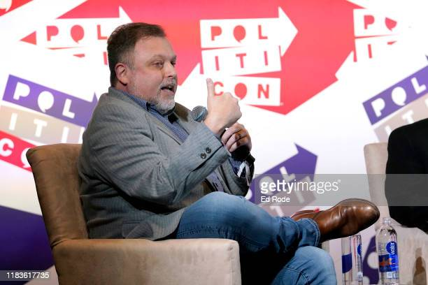 Tim Wise speaks onstage during the 2019 Politicon at Music City Center on October 26 2019 in Nashville Tennessee