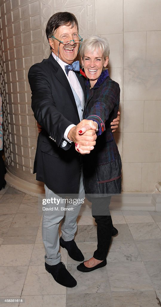 Tim Wonnacott and Judy Murray attends an after party following the press night performance of 'Dance 'Til Dawn' at The The Waldorf Hilton Hotel on November 3, 2014 in London, England.