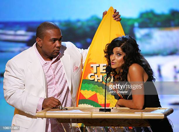 Timbaland and Nelly Furtado winners Choice Single of the Summer and Choice RB/Hip Hop Track for 'Promiscuous'