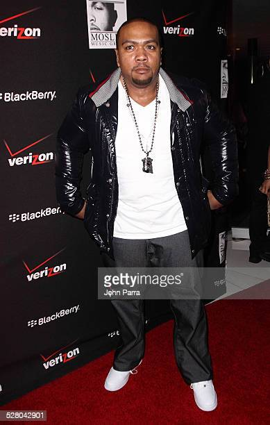 Timbaland arrives at show for Timbaland s Release Of Shock Value II at LIV  nightclub at Fontainebleau f7c6c32de0a2