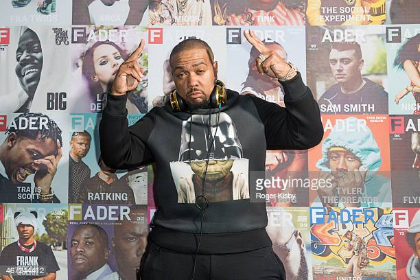 Timbaland attends The FADER FORT Presented by Converse during SXSW on March 21 2015 in Austin Texas