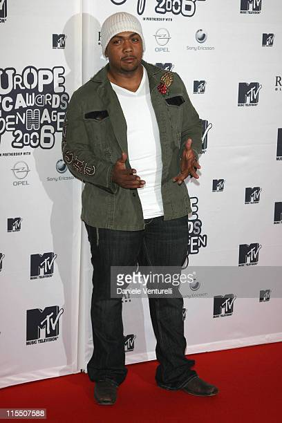 Timbaland during 2006 MTV European Music Awards Copenhagen Arrivals in Copenhagen Denmark