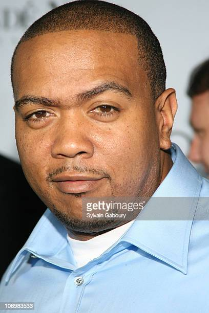 Timbaland during Conde Nast Media Group Kicked off Fashion Week with the Third Annual 'Fashion Rocks' Concert Arrivals at Radio City Music Hall in...