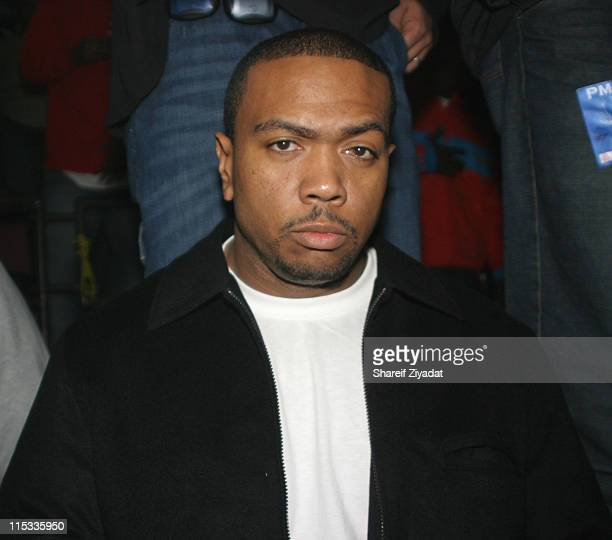Timbaland during Power 1051 FM Presents JayZ 'I Declare War' Concert October 27 2005 at Convention Center in New York City New York United States
