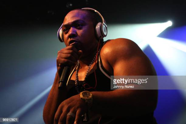 Timbaland performs at Irving Plaza on January 20 2010 in New York City
